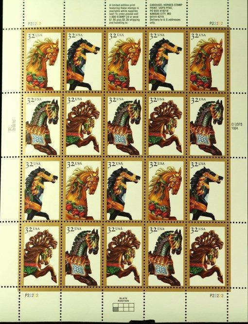 1994 USA stamps