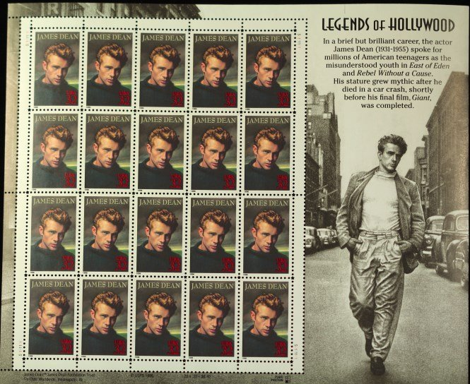 Legends of Hollywood Stamps