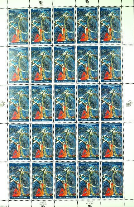 1995 United Nations Stamps