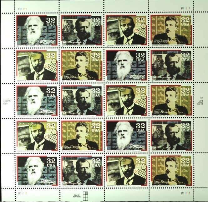 1995 American character  Stamps