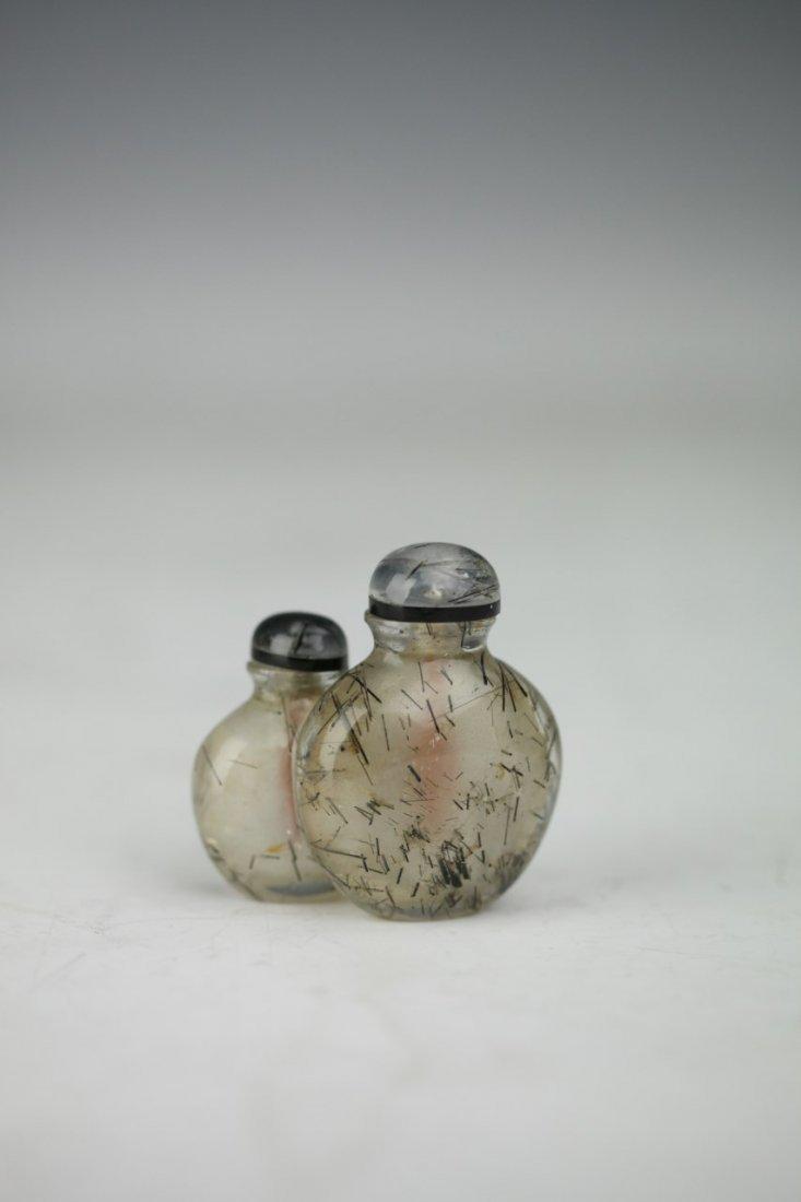 Twin Crystal Snuff Bottle