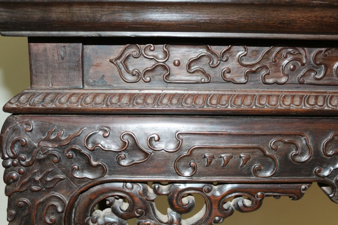 Chinese Zitan Altar Table - 2