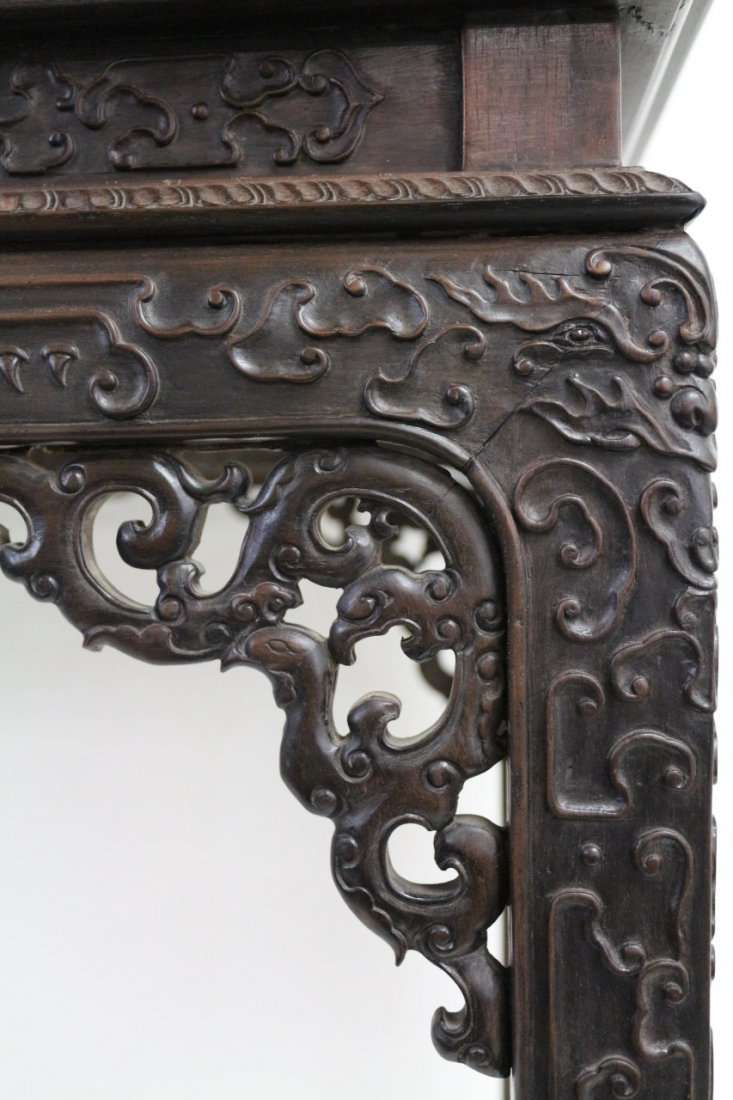 Chinese Zitan Altar Table - 5