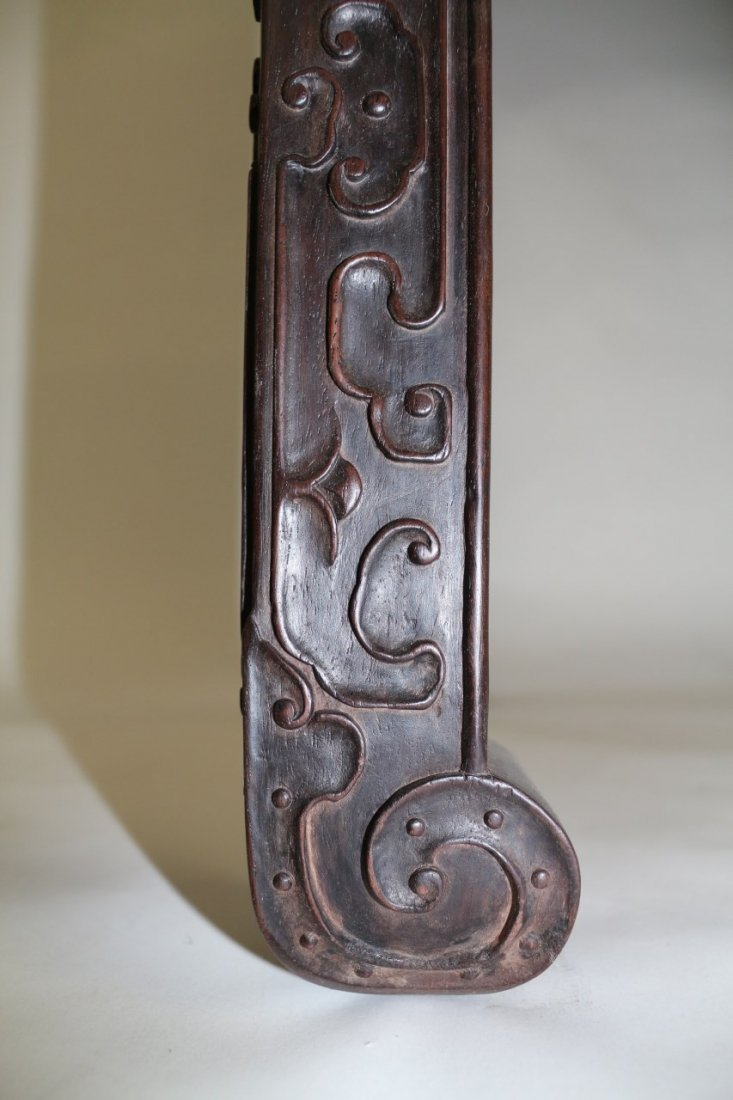 Chinese Zitan Altar Table - 7