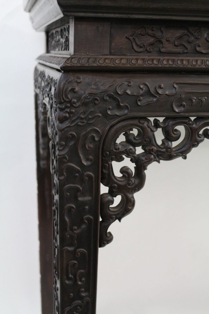 Chinese Zitan Altar Table - 8