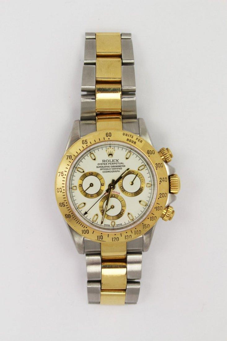 Mens Rolex Daytona Two-Tone Stainless & 18K watch - 2