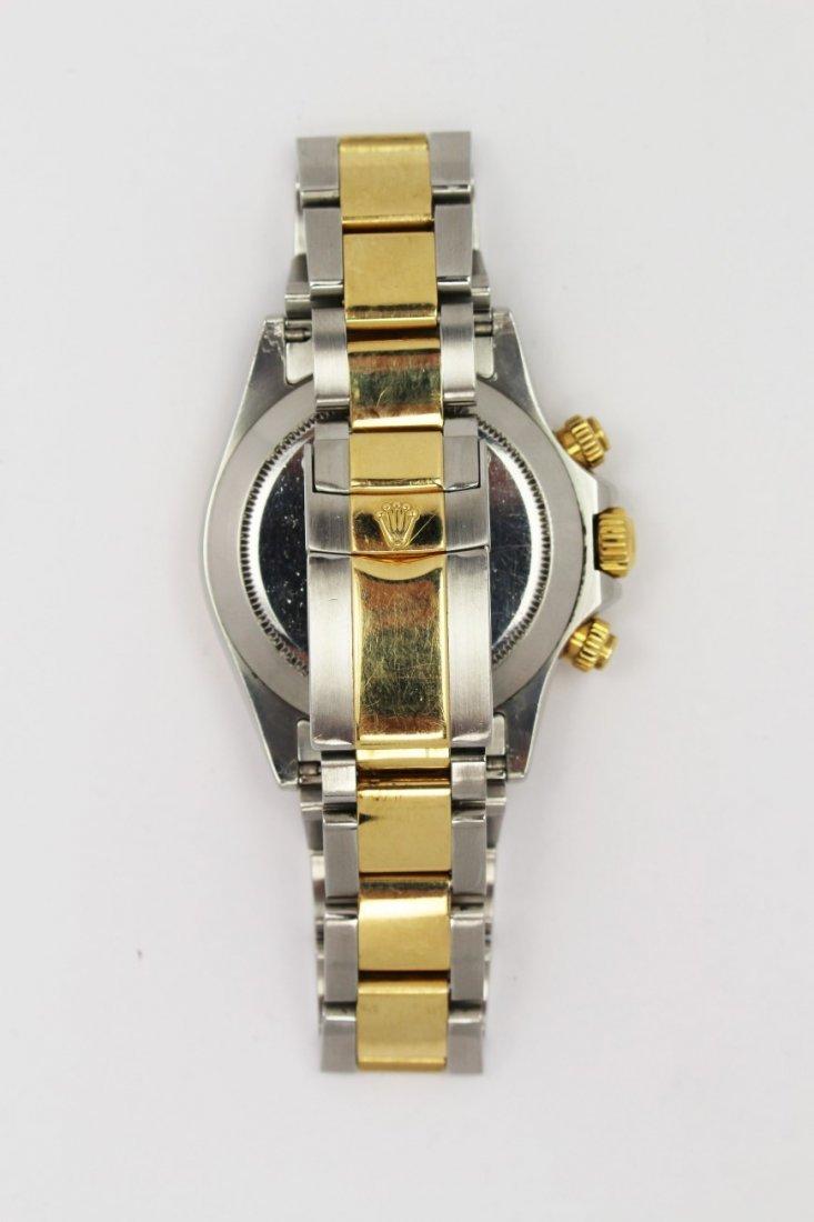 Mens Rolex Daytona Two-Tone Stainless & 18K watch - 4