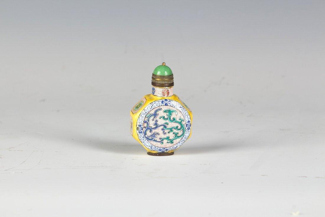 Enamel Snuff bottle
