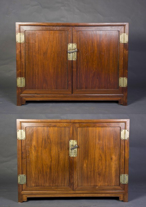 Bon TWO REDWOOD CABINETS. Placeholder