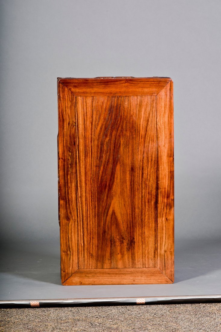 A SMALL RECTANGULAR HUANGHUALI KANG TABLE - 5