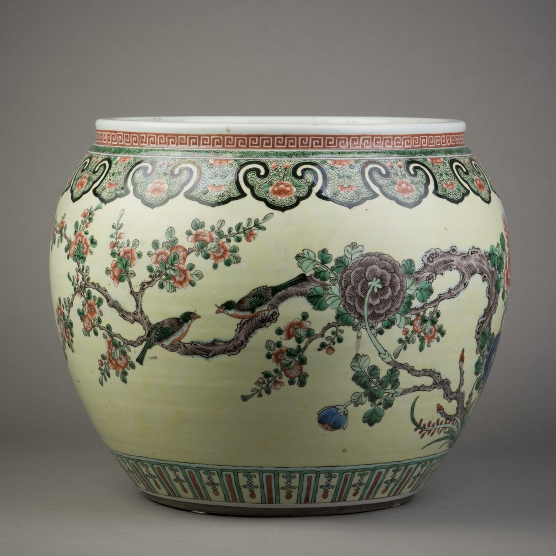 ANONYMOUS (QING DYNASTY), PAINTING BOWL