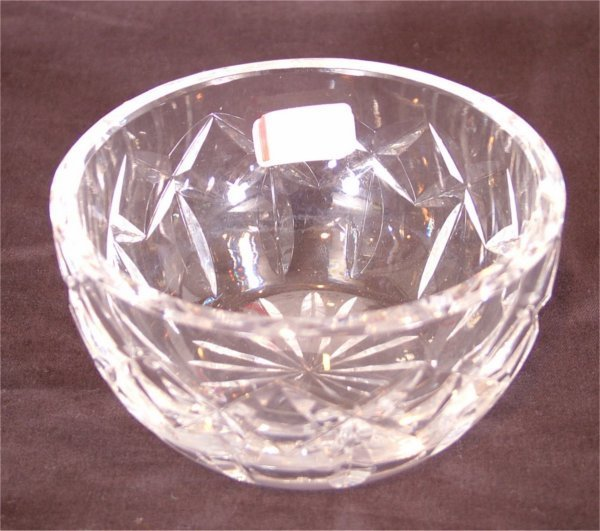 """3109: WATERFORD CRYSTAL FINGER BOWL 3 1/2""""D"""