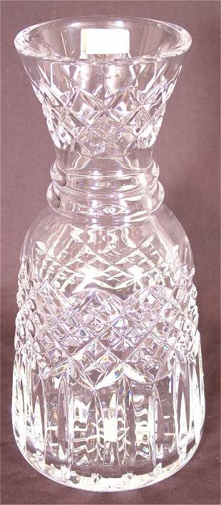 """WATERFORD CRYSTAL WATER BOTTLE 9""""H"""
