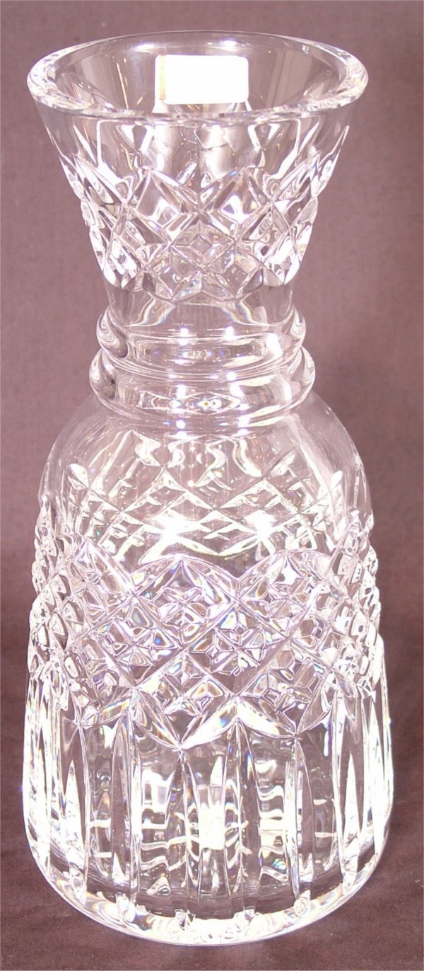 """3119: WATERFORD CRYSTAL WATER BOTTLE 9""""H"""