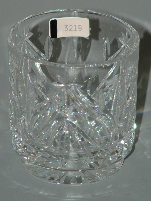 """3219: WATERFORD CRYSTAL OLD FASHION 3""""H"""