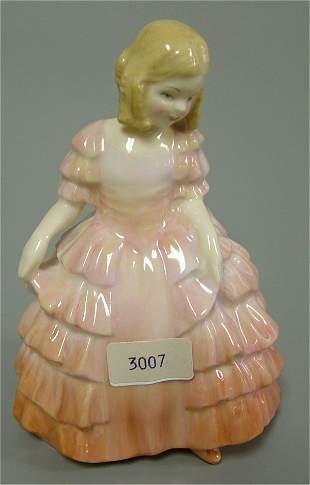 "ROYAL DOULTON FIGURINE, ROSE HN 1368 4 1/2"""