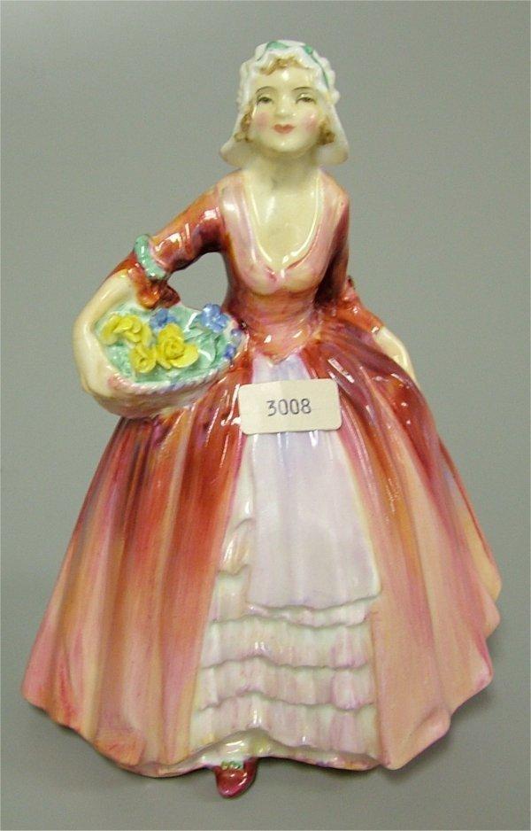 "3008: ROYAL DOULTON FIGURINE, JANET HN 1837 6 1/2"""