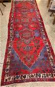ORIENTAL RUG SEMI ANTIQUE PERSIAN 34 X 10 2
