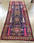 ORIENTAL RUG SEMI ANTIQUE PERSIAN CAUCASIAN 39 X 99