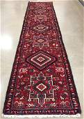 ORIENTAL RUG SEMI ANTIQUE PERSIAN KARAJEH 3 X 126