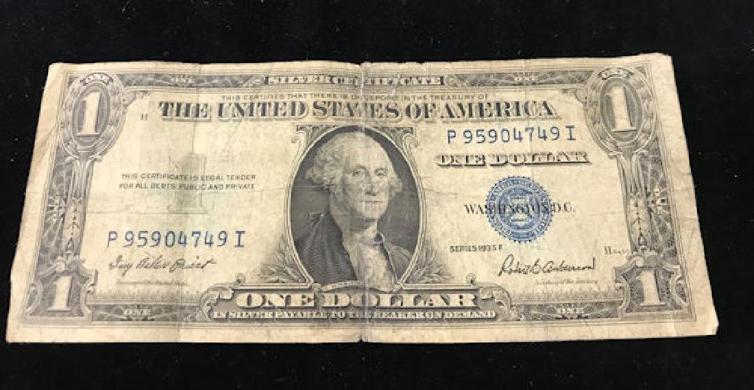 SERIES 1935 ONE DOLLAR SILVER CERTIFICATE