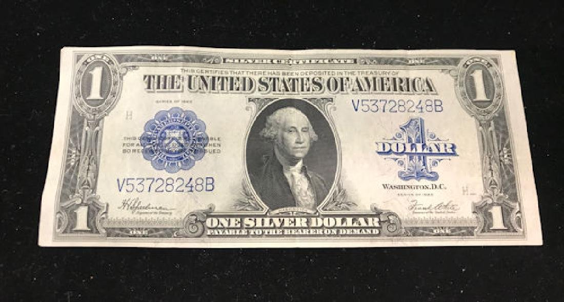 SERIES 1923 ONE DOLLAR SILVER CERTIFICATE