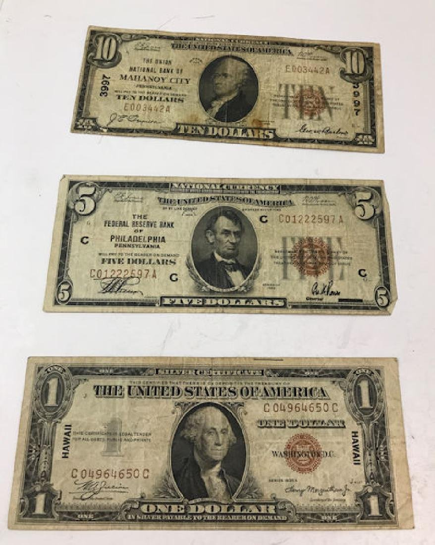 "SERIES 1929 TEN DOLLAR NATIONAL CURRENCY NOTE ""THE"