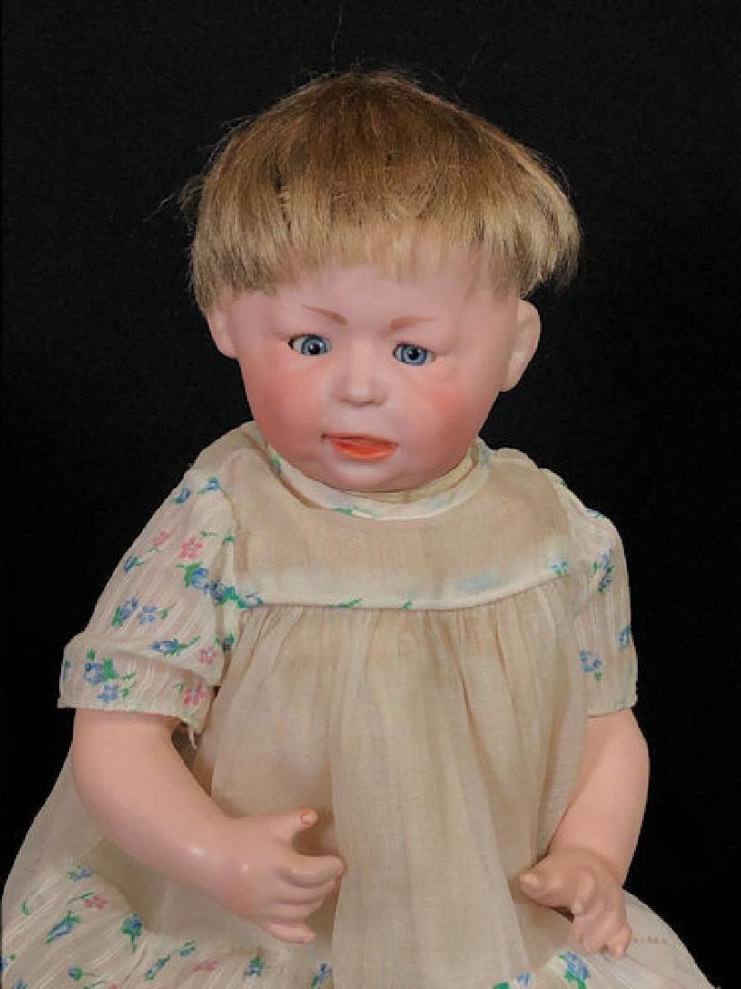 """13"""" SIMON & HALBIG 1428 BISQUE HEAD CHARACTER BABY 6."""