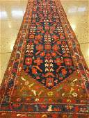 ORIENTAL RUG SEMI ANTIQUE PERSIAN 34 X 126