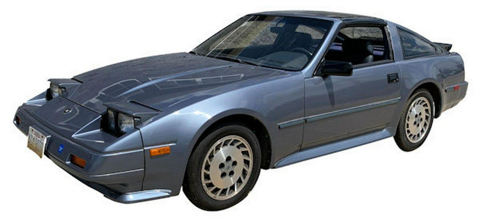 1986 NISSAN MODEL 300X COUPE 109,676 ACTUAL MILES, VIN
