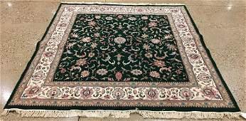 ORIENTAL RUG FINE INDO PERSIAN TABRIZ 7 X 74