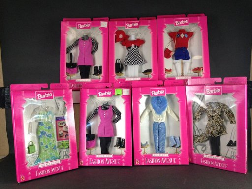 7 Nrfb Barbie Fashion Avenue Boutique Fashions Sep 18 2019 Apple Tree Auction Center In Oh