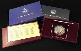 MIXED LOT INCLUDING 1993 THOMAS JEFFERSON 250TH
