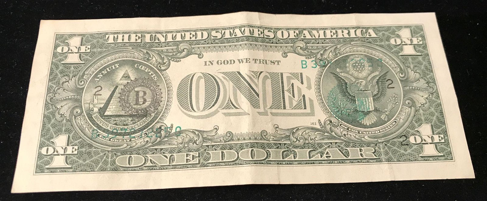 SERIES 1985 ONE DOLLAR FEDERAL RESERVE ERROR NOTE