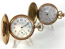 TWO ANTIQUE POCKET WATCHES