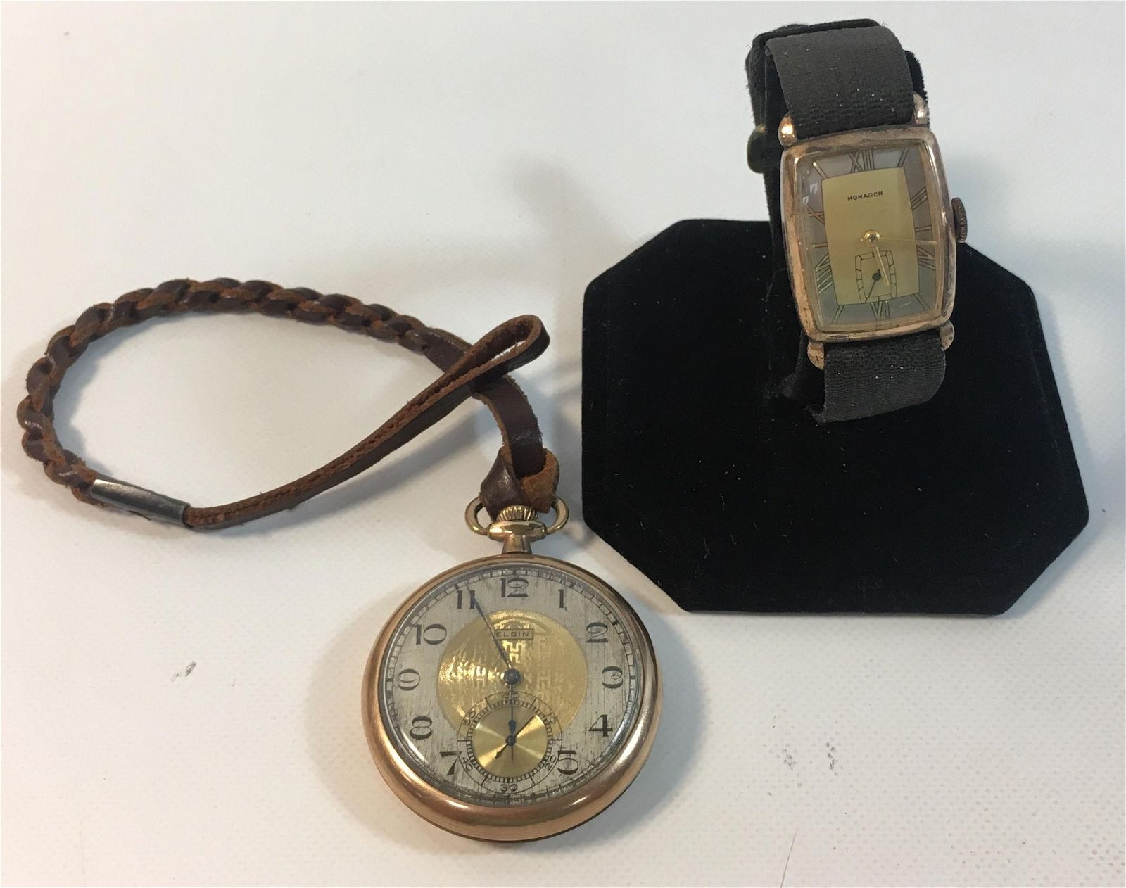 TWO VINTAGE WATCHES