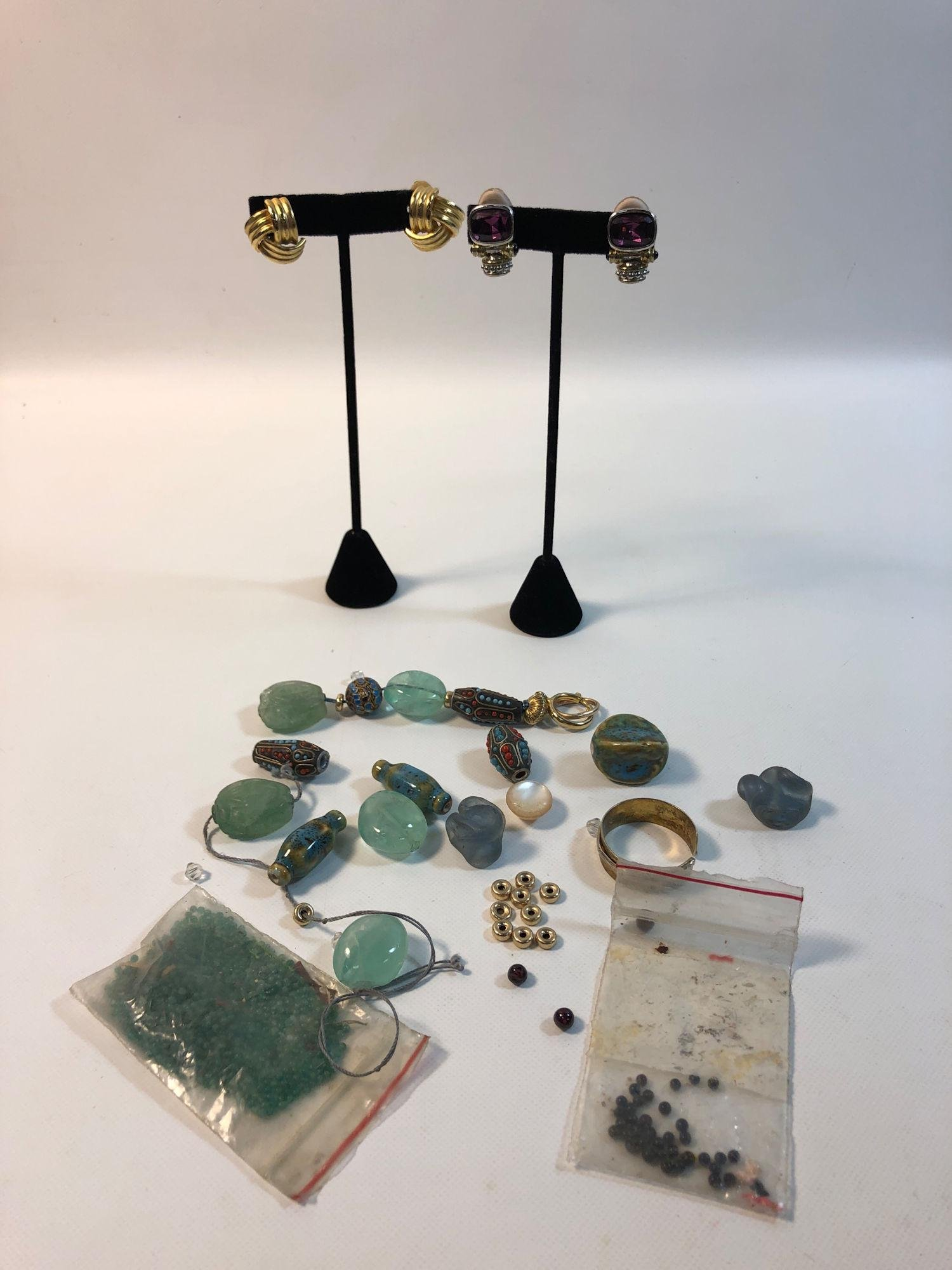 MISCELLANEOUS JEWELRY MAKING SUPPLIES