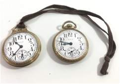 TWO ELGIN POCKET WATCHES