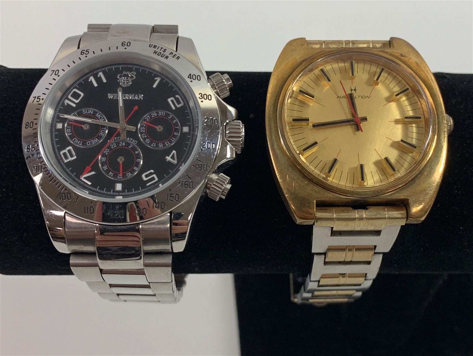 TWO WRIST WATCHES