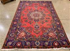 ORIENTAL RUG SEMI ANTIQUE PERSIAN 6prime5Prime X