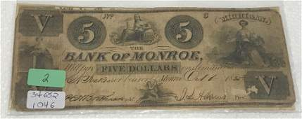 ANTIQUE U.S. CURRENCY