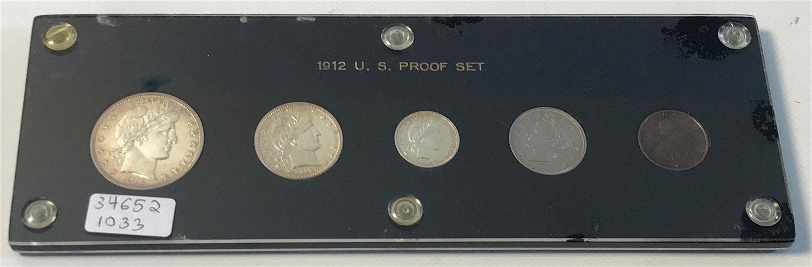 1912 U.S. PROOF SET
