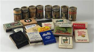 BOX LOT ANTIQUE AND VINTAGE MATCHES