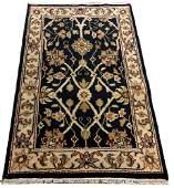 ORIENTAL RUG FINE INDO PERSIAN TABRIZ 32 X 51