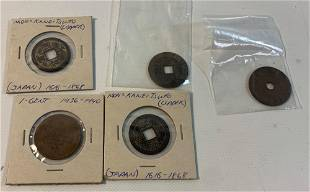 ANTIQUE TO VINTAGE ASIAN COINAGE
