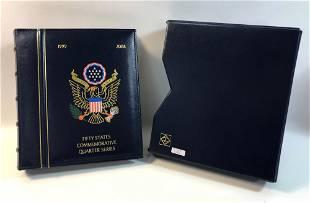 UNITED STATES STATEHOOD QUARTERS IN ALBUM