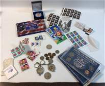 UNITED STATES COINS AND STAMPS