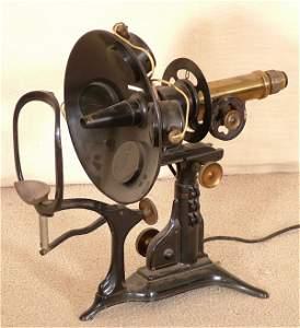 5169: EARLY OPTICAL EXAMINING MACHINE BRASS & CAST META