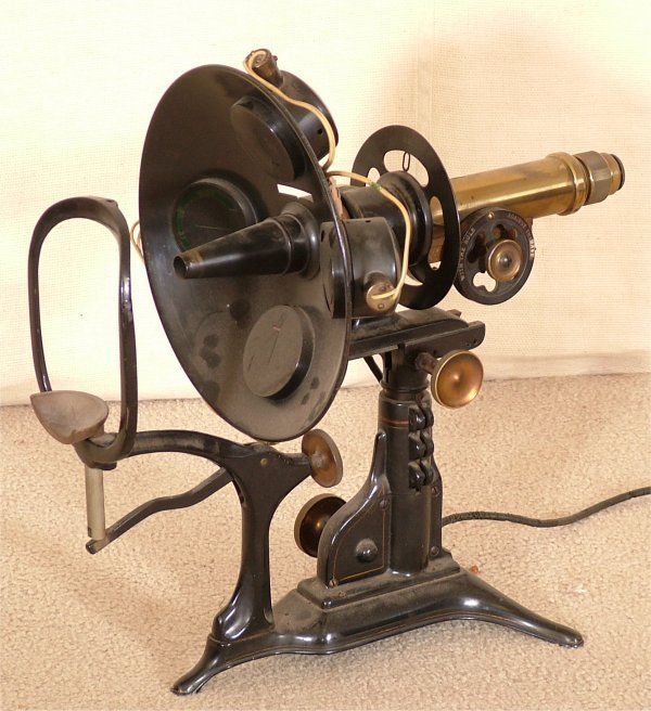 5169: EARLY OPTICAL EXAMINING MACHINE BRASS & CAST META