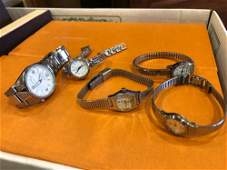 LOT VINTAGE WRIST WATCHES